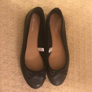 Black Merona Ballett Flats